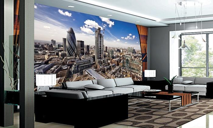 Hd De La Ciudad De Londres Foto Mural Para Sofa De Fondo De Pared
