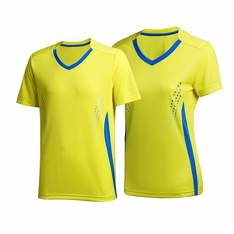 Fashion design adults badminton jersey uniform design badminton jersey set
