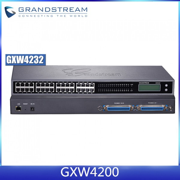 Grandstream GXW4200 high-density IP Analog FXS gateway