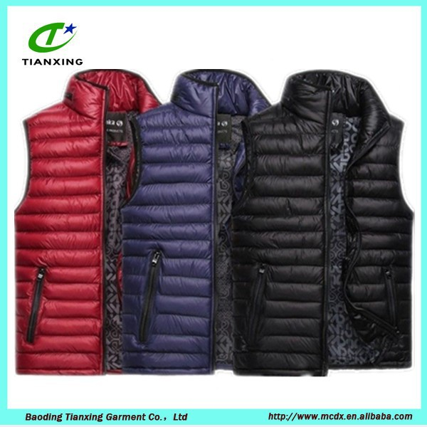 Mens Slim Padded Quilted gilet