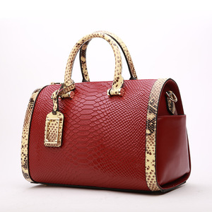 2019 Custom Famous Brand Luxury Bags Alligator Pattern Women Handbags