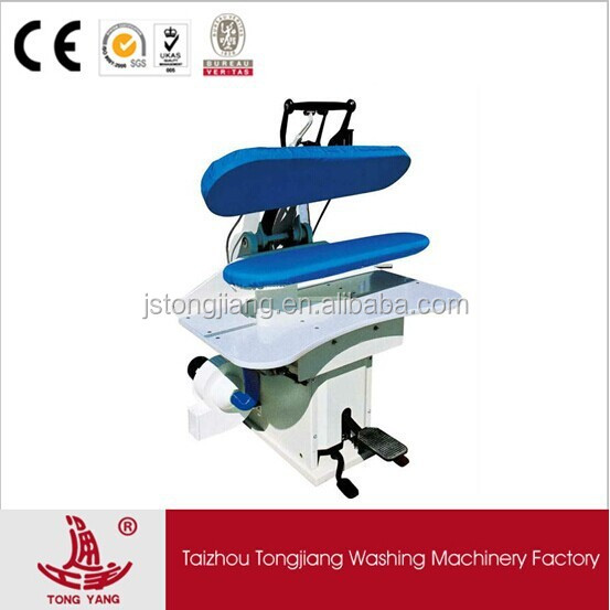 The model SZW-125 high quality industrial laundry steam press iron