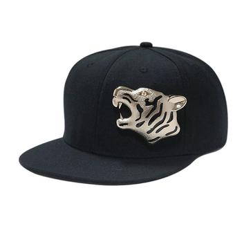 9017aad2 Custom Metal Logo Flat Brim Snapback Hats - Buy Custom Metal Logo Snapback  Hats,Snapback Hats,Snapback Product on Alibaba.com