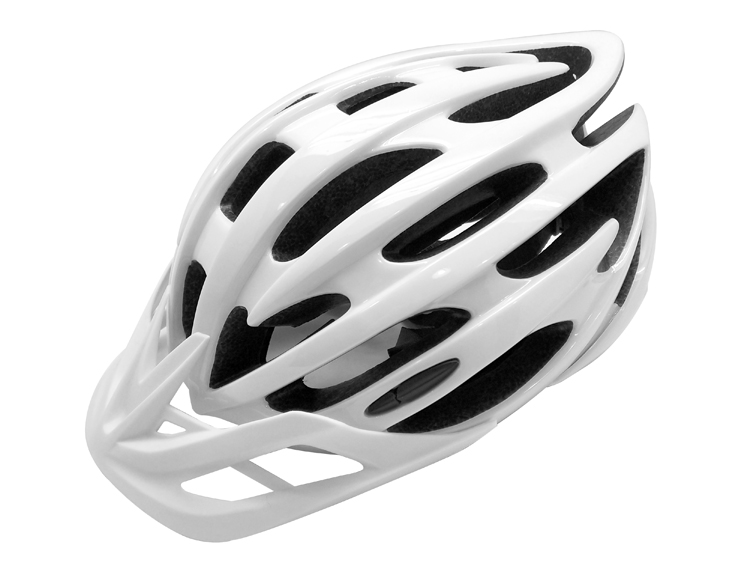 Competitive Mountain Bike Helmet with Sun Visor