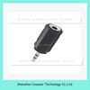 Audio Adapter 2.5MM to 3.5MM Stereo Adapter Earphone Jack Earphone 3.5MM Male to 2.5MM Female Adapter Black