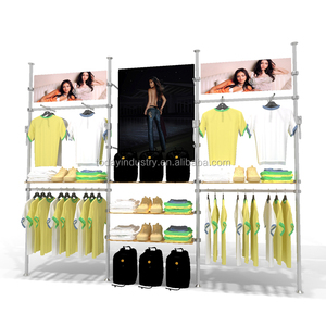 aluminumClothing store displays,retail clothing store furniture,clothes shop furniture