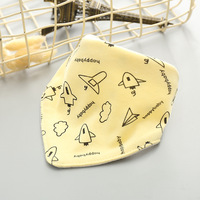 Cute Lovely Cartoon Pattern Cartoon Face Colorful Customized Baby Bib