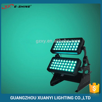 Super Brightness IP65 Outdoor Waterproof Double Head DMX City Color RGBW 72*10w LED Wall Washer