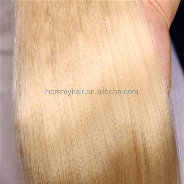 Factory Price Platinum Blonde Human Hair Extension Braiding Hair