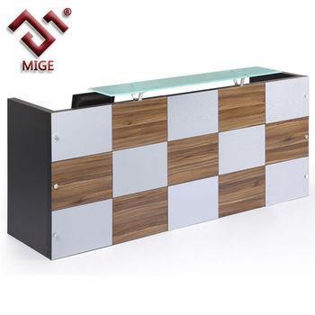 Wooden Office Counter Desk