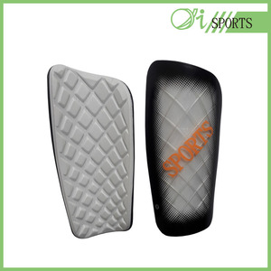 China customize design soft soccer shin guard