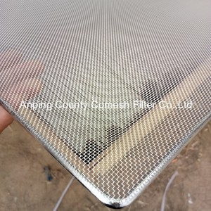 Stainless Steel Rectangle BBQ Cooking Grill Wire Net