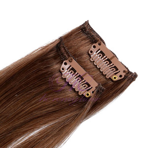 Top supplier human hair 18 inch 160g in hair extension