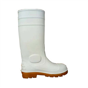 oil resistant food industry safety boots pvc white boots