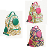 printed waterproof canvas pet carrier backpack for dog and cat,pet dog travel carrier,colorful pet carrier bag airline approved