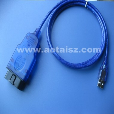 J1962 obd2 to usb cable for diagnostic S5