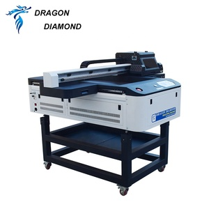600mm*900mm A1 A2 A3 A4 A5 sinkable platform printers Automatic Inkjet UV Flatbed Printer for Flatbed printing machines