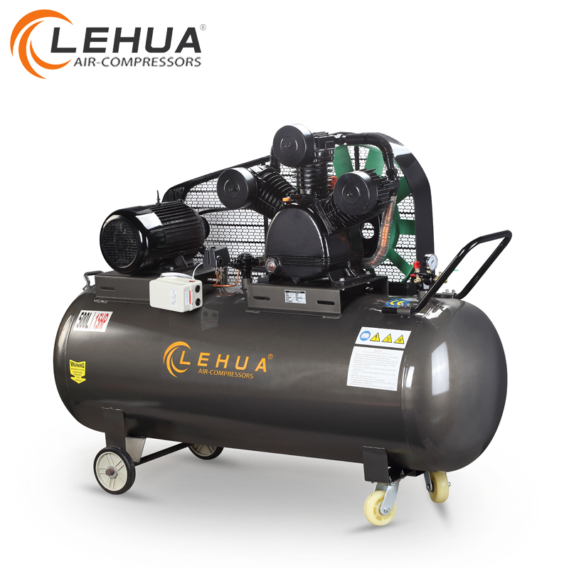 500L red air tank electric motor for air compressor