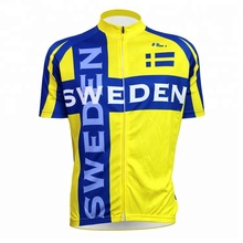 OEM service mtb <span class=keywords><strong>dh</strong></span> sublimatie fiets jersey blauw
