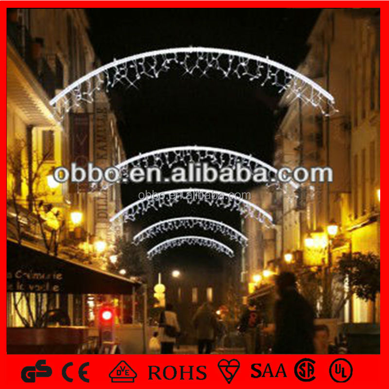 Commercial Street Light Decoration Led Icicle Lights