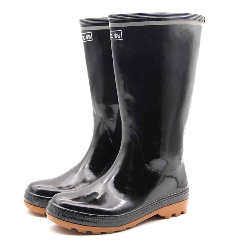 Rubber Boots Mining Boots Safety Boots Without Steel Toe