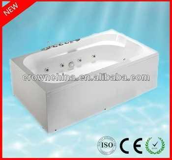 luxury indoor massage portable whirlpool bathtub l shaped