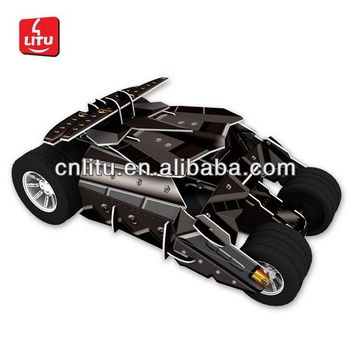 build your own batmobile cartoon toy car kids puzzle game