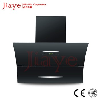 Tempered Glass Surface Automatic Clean Kitchen Aire Range Hood Parts,  Chimney Range Hood JY