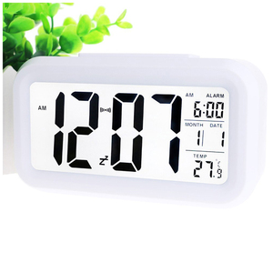 Cheap Home Decor Lcd Analog Clock Display