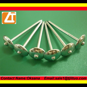 Roofing nails supplier bulking round head common & roofing nails