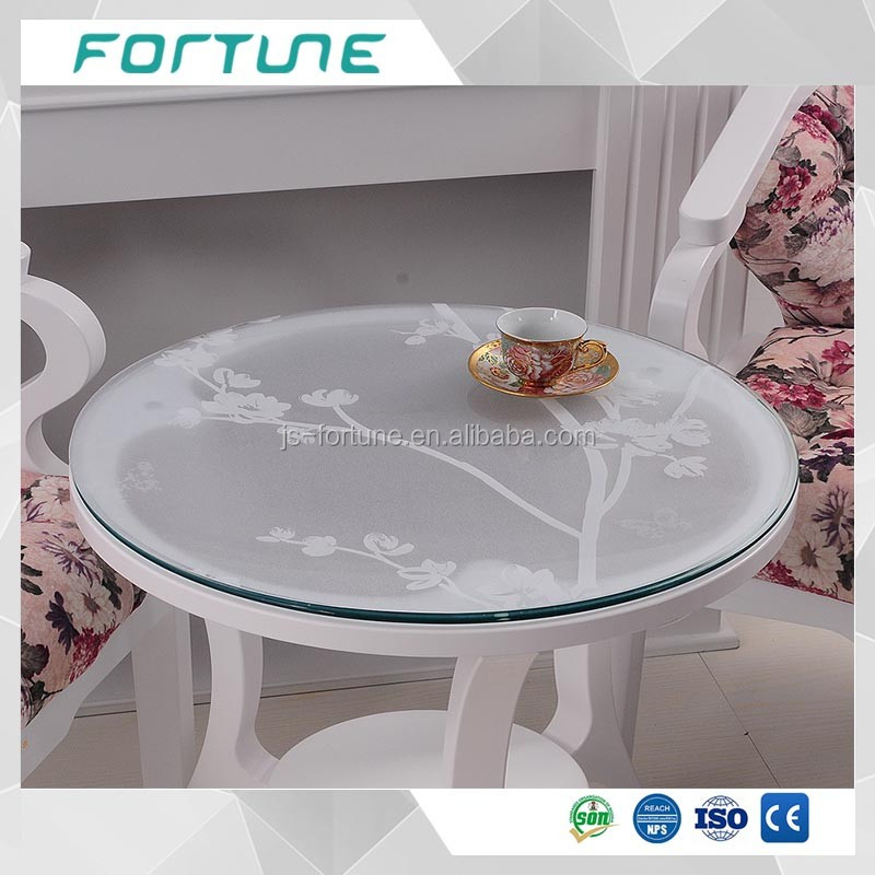 coffee table cover film transparent plastic film for glass protect