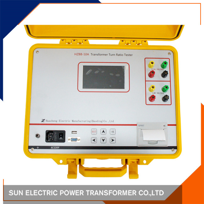 single/three phase Auto Transformer winding tester /turns ratio tester