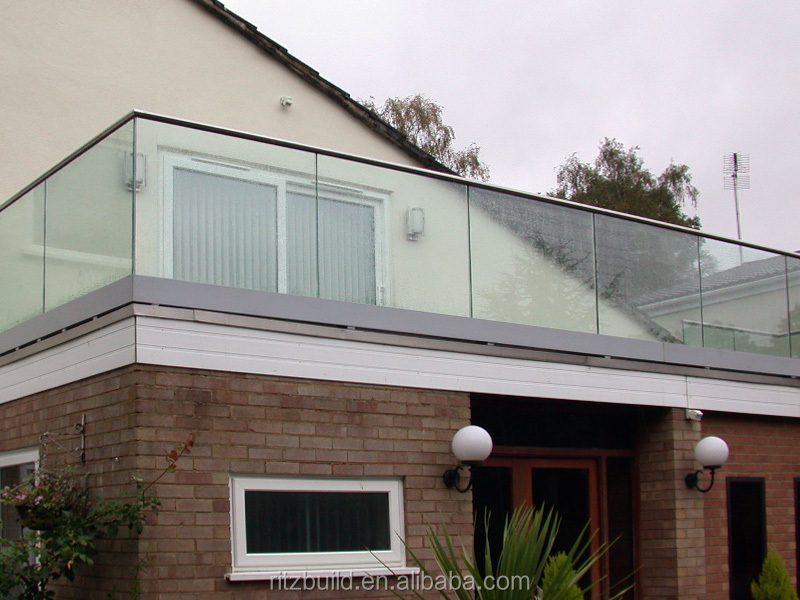 Reliable Suppliers For Aluminum Channel Glass Balcony Railing ...