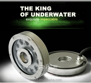 top quality underwater light series 9w RGB IP68 led fountain light,led pool light