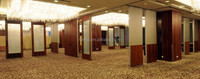 aluminium movable partition wall and operable partition wall acoustic movable partition for hotel