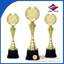 Hot Selling Electroplating World Globe Metal Figurines Trophy
