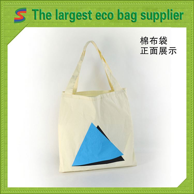 Cotton Mobile Bag Cotton Handle Paper Shopping Bag