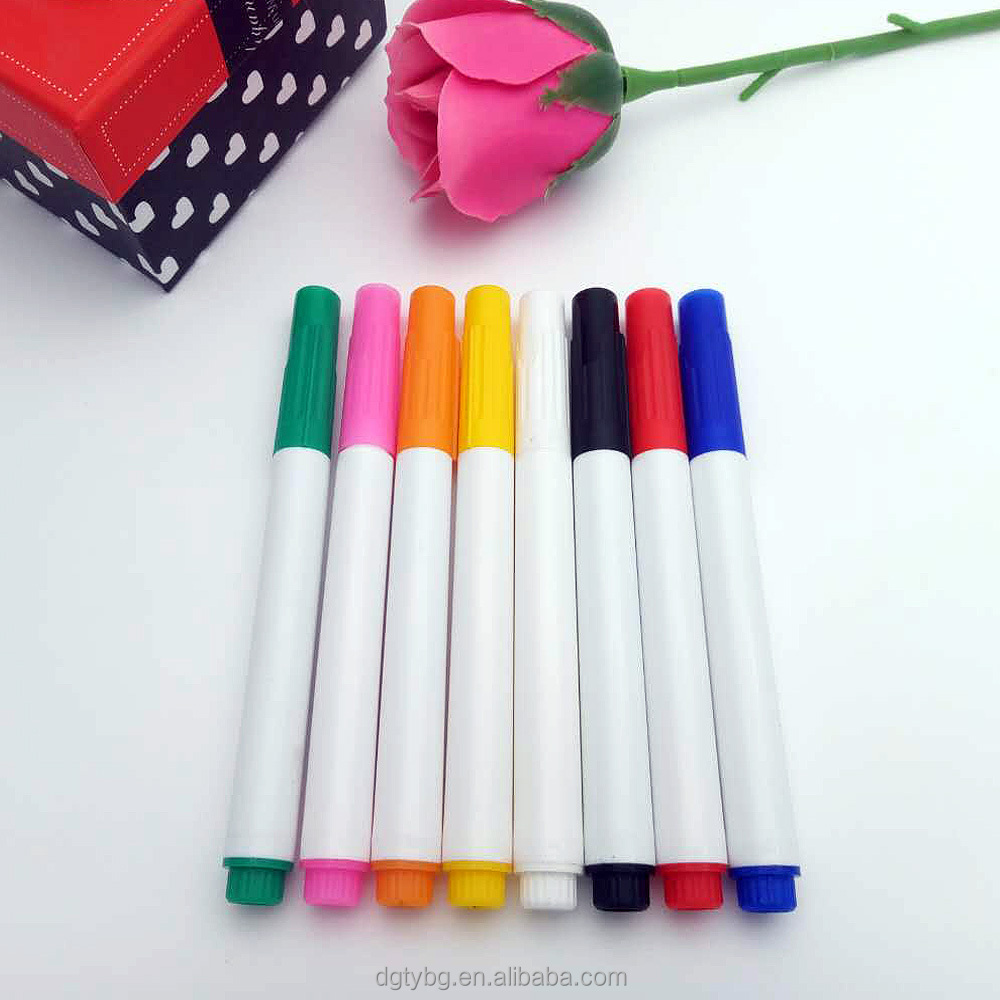 mini Fabric Marking Pen permanent type fabric markers for children DIY T-shirt