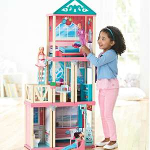 ML-166 new arrived  house assembled diy furniture toy wooden doll house