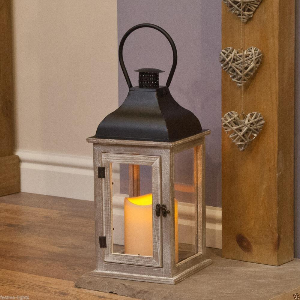 shabby chic grand chaux 45 cm en bois bougie lanterne chandelier id de produit 60322010286. Black Bedroom Furniture Sets. Home Design Ideas