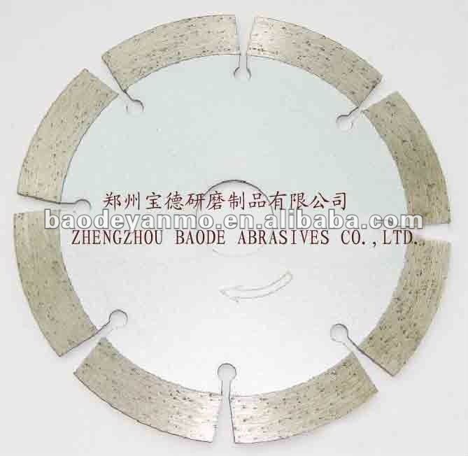 Dry use Diamond cutting wheels for marble, granite