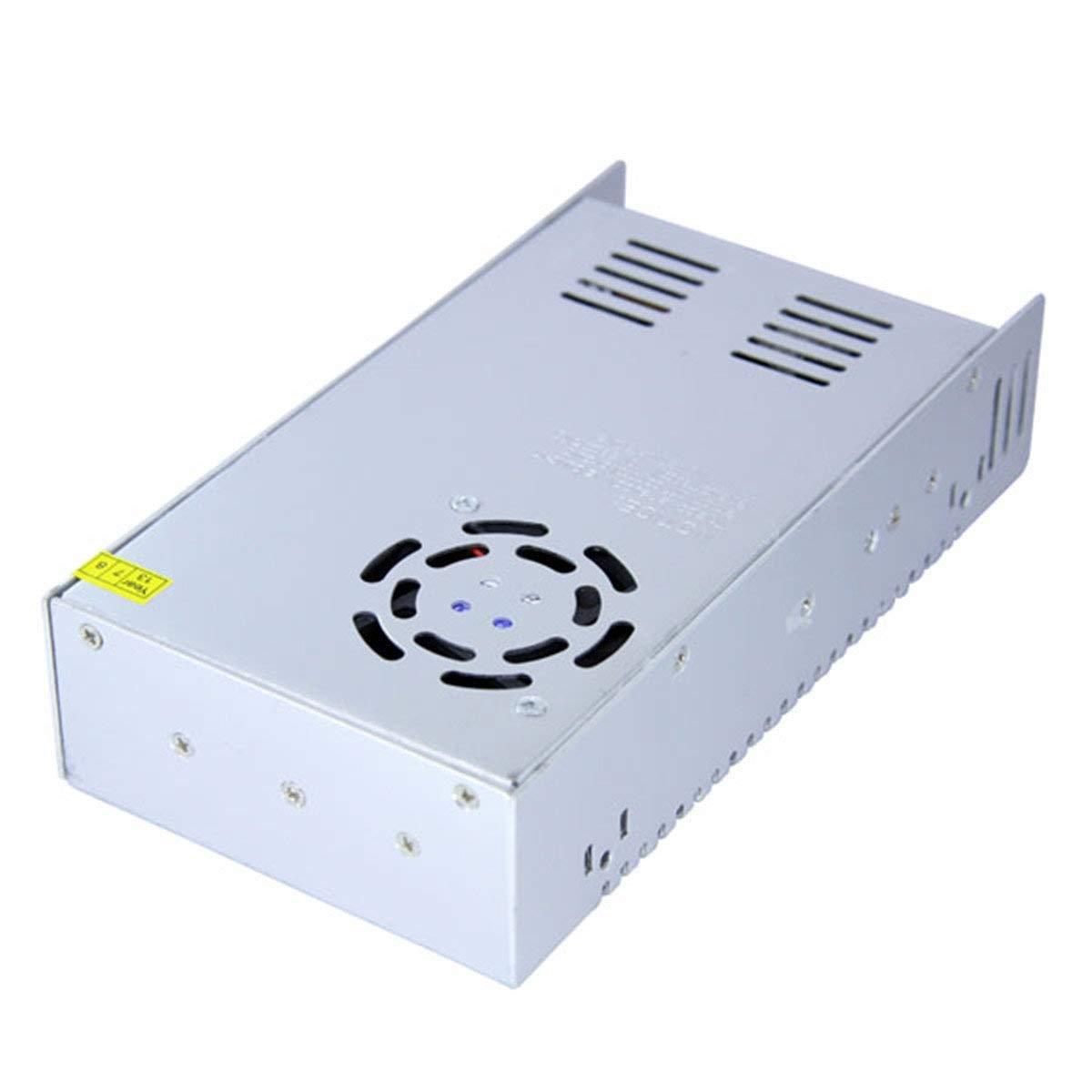 jiguoor AC 85-265V to DC 24V 15A 360W Driver Switch Power Supply Transformer for LED Strip Light