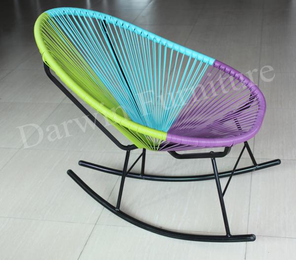 Jard n muebles de exterior mecedora silla acapulco for Mecedoras de jardin