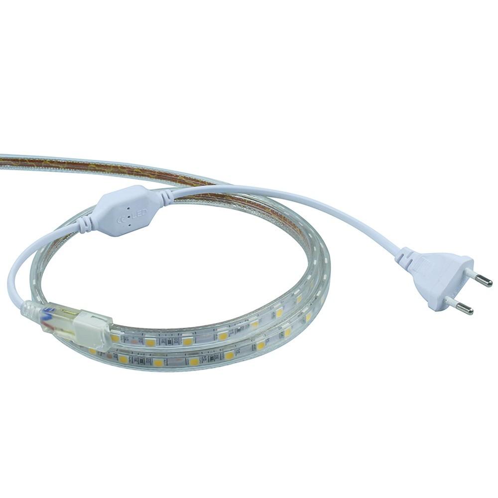New design Hot sales Dubai market 25M/ROLL SMD 5050 AC220v rgb led strip