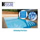 Durable 1.5mm mosaic blue plastic pvc vinyl inground swimming pool liners