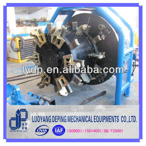 portable pipe chamfer machine for on-site pipe end preparation and pipe edge chamfering