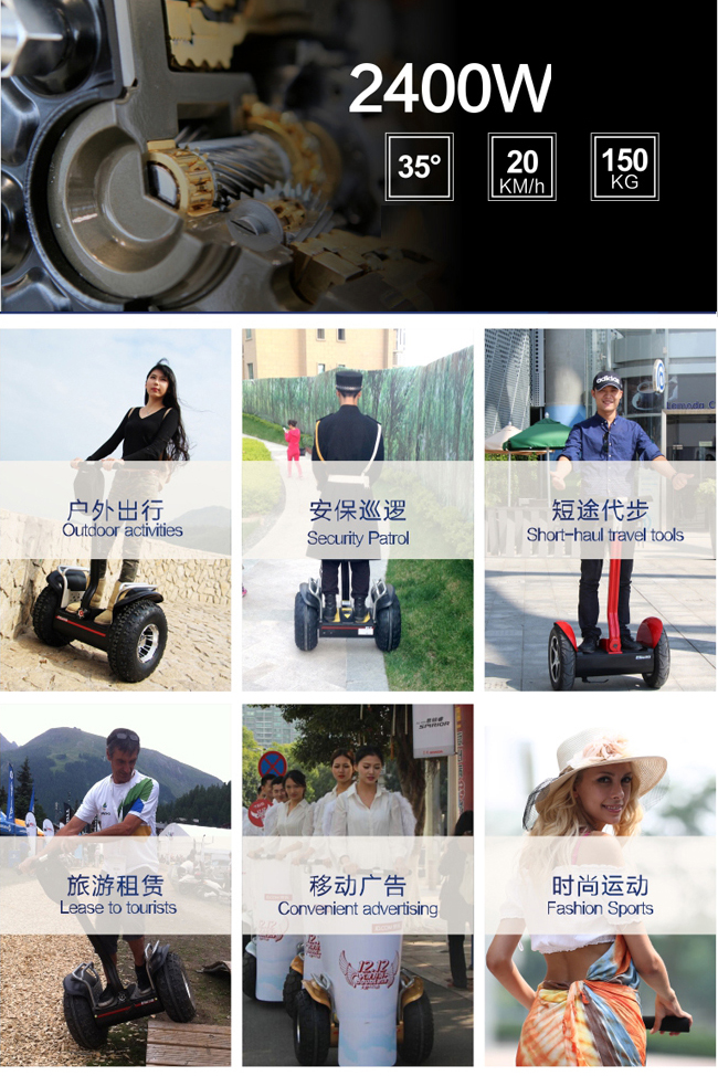 China Supplier For 2 Wheel Self Balancing Scooter 3 Wheel Electric ...