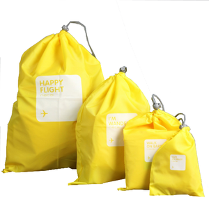 Wholesale Waterproof Custom Logo Nylon Drawstring Bag For Shoes
