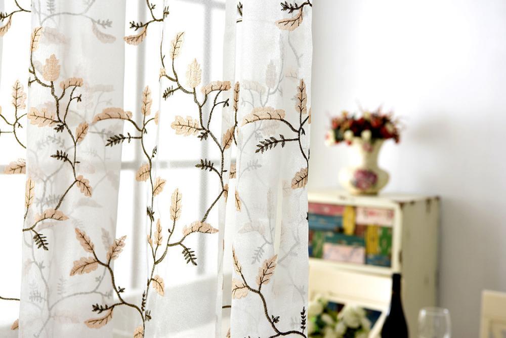 2017 Home Sense Curtains Embroidery Curtaincurtain Design Fashion Curtain