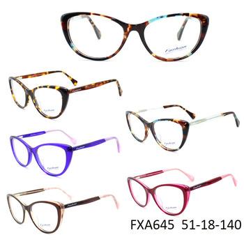 Eye Frames China Wholesale With Italy Designer Cat Eye Optical ...
